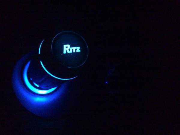 Ritz VS with Blue cigg LED