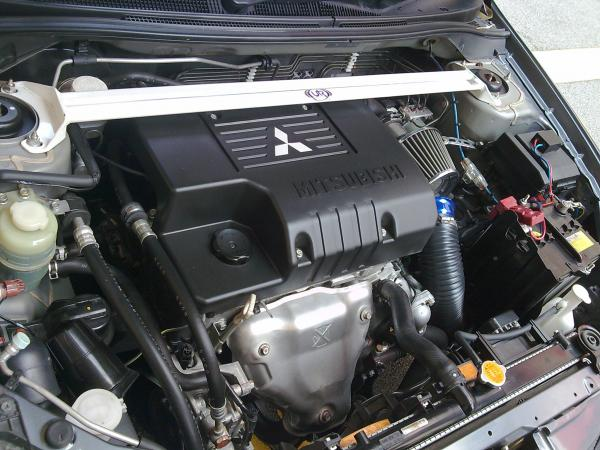 Stock Engine bay