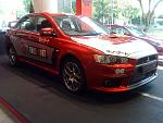 Lancer Evo (Side View)